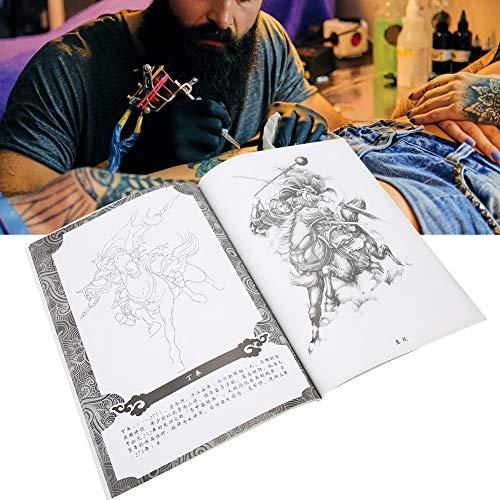 Ensemble de modèles de tatouage, 70 pages ancienne figure motif tatouages pochoirs shader photo tatouage pratique modèle livre accessoire pour référence d'artiste de tatouage