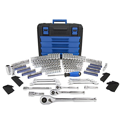 Kobalt 314-Piece Standard (SAE) and Metric Mechanic's Tool Set with Hard Case -...
