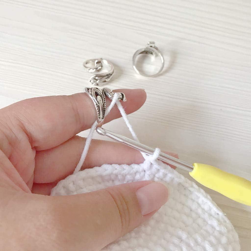 Virginia Beach Mall 3 Pcs Max 76% OFF Adjustable Knitting Loop Accessories Crochet