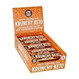 Best Low Carb Bars - Krunchy Keto Bar - 2g Net Carb Salty Review