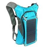Sortim - Panel de Carga Solar (7 W, 1,8 L, Mochila de hidratación/Bolsa de vejiga con Flexible),...