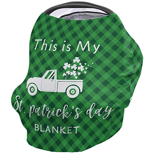 Fantastic Prices! This is My St. Patrick's Day Blanket Nursing Cover for Baby Breastfeeding, Soft Br...