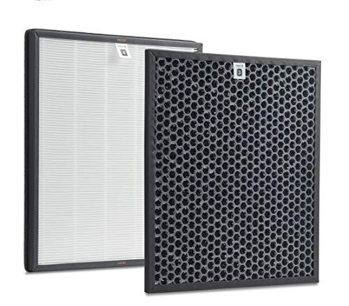 Supremery Juego de filtros de repuesto para purificador de aire Philips AC4012/10 (Series 4000 y 4000i), filtro HEPA y carbón activo, alternativa a los filtros Philips AC4123/10 y AC4124/10