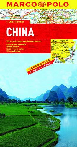 China Marco Polo Map (Marco Polo Maps) [Idioma Inglés]