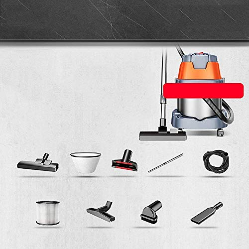 Inalámbrico Aspiradora aspirador -1600W alta seca adicción a los hogares de alimentación y húmeda soplado de tres a gran escala de limpieza aspirador 20L aspirador portátil de gran alcance (Color: Nar