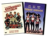 CHEVY CHASE - Cannonball Run/three Amigos (2 DVD) - Multiple Formats Color NEW