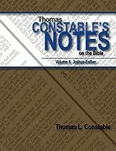 Thomas Constable's Notes on the Bible: Volume II Joshua-Esther (Volume 2)