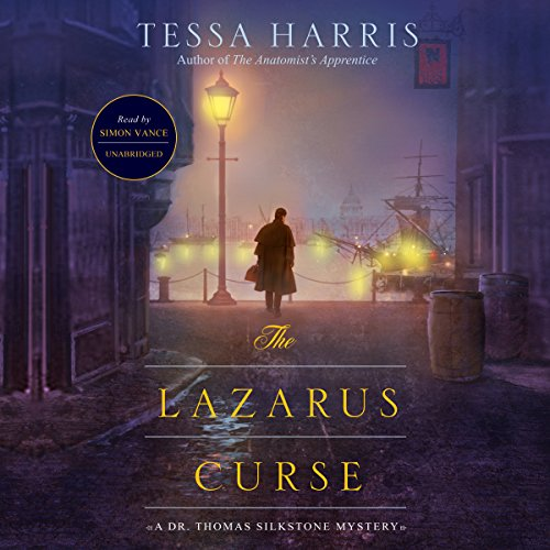 The Lazarus Curse audiobook cover art