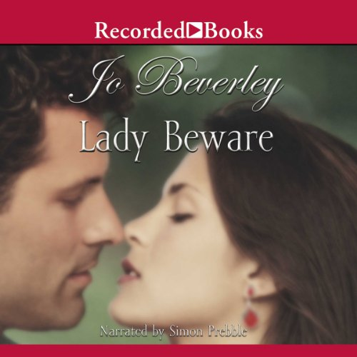 Lady Beware audiobook cover art