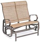 SunTime Havana Bronze Twin Seat Garden Glider Seat