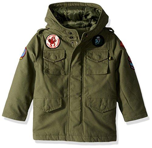 ALPHA INDUSTRIES Jungen M-65 NOAH FIELD COAT Jacke, olivgrün, X-Large