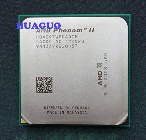 AMD Phenom II X4B973.2Ghz Quad-Core CPU Prozessor hdxb97wfk4dgm Sockel AM395W