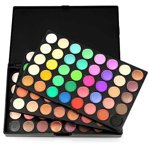 Tonsee 120 Farben kosmetischen Puder Lidschatten Palette Makeup Set Matt Erhältlich