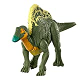 Jurassic World Roar Attack Ouranosaurus Camp Cretaceous Dinosaur Figure with Movable Joints, Realistic Sculpting, Strike Feature & Sounds, Herbivore, Kids Gift 4 Years & Up