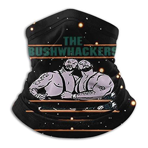 Hdadwy Männer The Bushwhackers Retro Wrestling Mundabdeckungen Schal Unisex Wiederverwendbare Vielseitigkeit Warm halten Winddichter Halswärmer