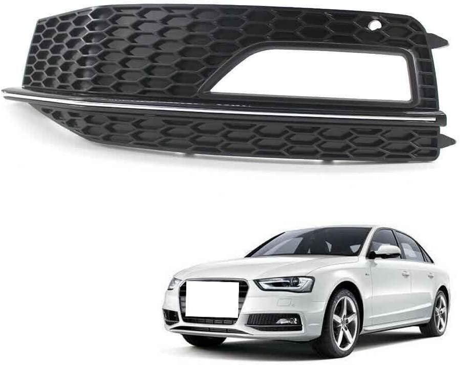 Bumper Fog Light Grill Grille for B8 Fit A4 Free shipping New Outlet ☆ Free Shipping Audi