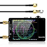 Elikliv アンテナネットワークアナライザNanoVNA 50KHz-900MHz 2.8インチLCDデジタルディスプレイタッチスクリーン短波MF HF VHF UHFアナライザ定在波