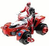 Power Rangers SPD Red Delta Morph ATV Space Patrol Delta Bandai 2005 MISB MIB