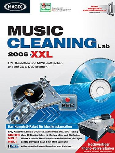Preisvergleich Produktbild MAGIX music cleaning lab 2006 XXL