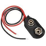 Conector a presión de batería de 15cm y 9V