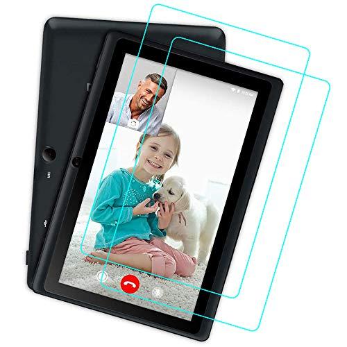 YGoal Protector de Pantalla para Dragon Touch 7 Pulgadas, [2 Pack] Protector de Pantalla de Vidrio Templado para Dragon Touch Q88, Y88X Plus e Y88X Pro 7 Pulgadas Tablet
