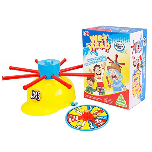 Wet Head Game, Gvoo Funny Wet Hat Water Challenge Roulette Game Prank Game Toys for Family, Halloween Party, Holiday, Christmas Gift and Outdoor Activity