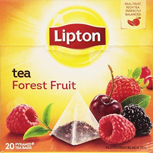 Lipton - Té Frutas Del Bosque, 20 x 1.7 gr - [Pack de 12]
