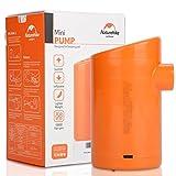 Mini LUFTPUMPE Kompressor Elektrische USB wiederaufladbar tragbar mit 5Wasserhähne von Air für Luftbett Schlafsäcke zu Leer Ring-Schwimmen, Rechargeable