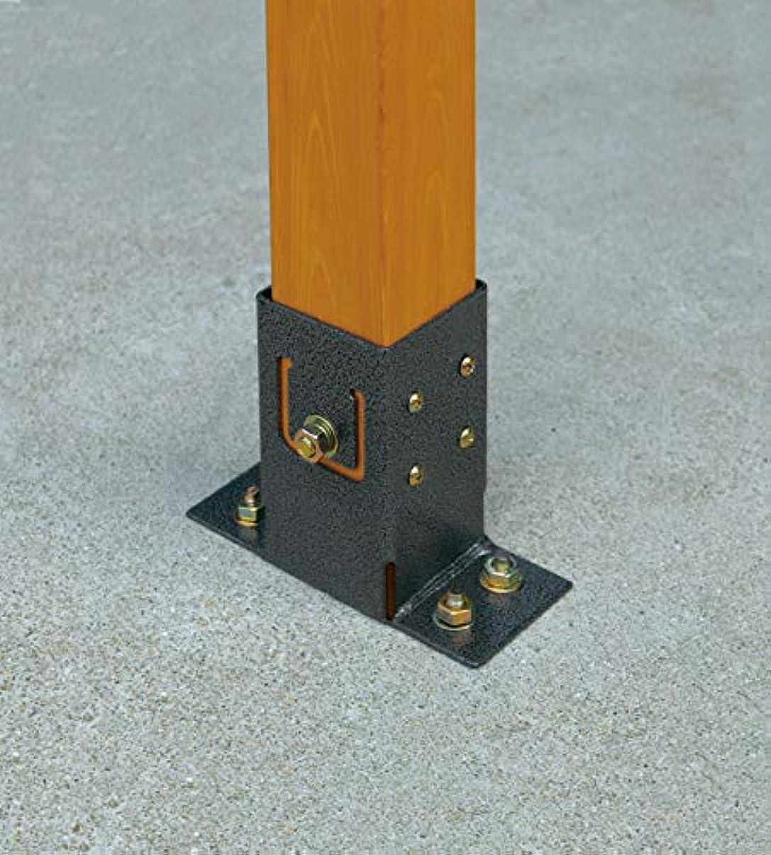 弾薬ユニークな原告タカショー ラティス用柱固定金具 ベースプレート