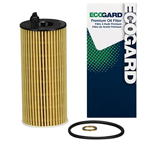 ECOGARD X10569 Premium Cartridge Engine Oil Filter for Conventional Oil Fits BMW X3 2.0L 2018-2021,...