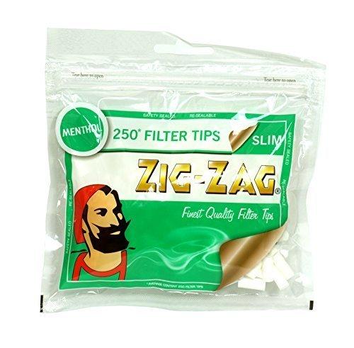 25 x Zig-Zag Slim Menthol Filter Tips by Zig Zag