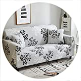 sensitives Floral Sofa Cover Slipcovers Elastic Stretch Tight Wrap All Inclusive Sofa Couch Cover Towel Furniture Protector 1/2/3/4 Seater,Color 22,3-Seater 190-230cm