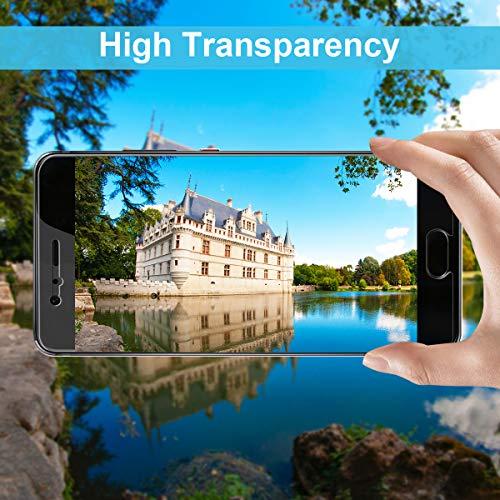 CRXOOX 3 Stück Panzerglasfolie für Huawei P10 Panzerglas Schutzfolie - 9H Gehärtetem Glas, Anti-Fingerabdruck Ultra Dünn Blasenfrei Einfache Installation Displayschutzfolie Folie für Huawei P10 - 4