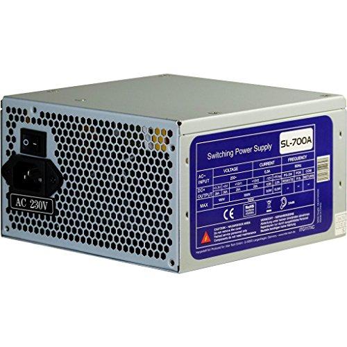 700W ATX silent PC Computer Netzteil mit 120mm Lüfter 2x PCIe 4x S-ata
