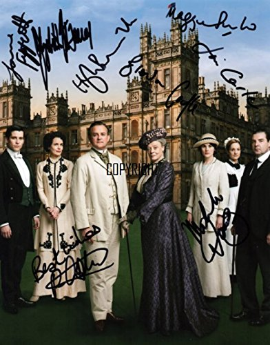Limited Edition Downton Abbey Guss Signiert Foto Autogramm signiertsigniertes