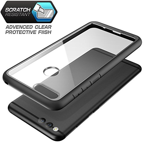 SupCase Honor 7X Hülle Premium Handyhülle Hybrid Case Transparent Schutzhülle Backcover [Unicorn Beetle Style] für Honor 7X / Mate SE 2017 (5.93 Zoll) (Schwarz) - 3