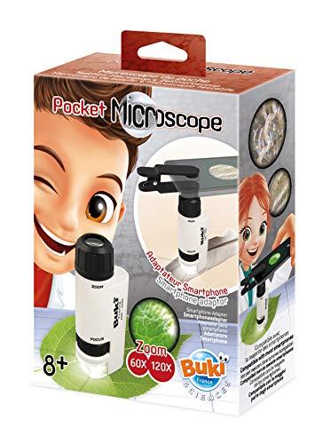 BUKI France MR200 Taschen-Mikroskop