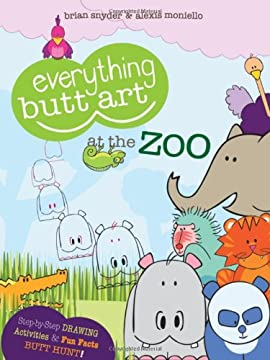 Everything Butt Art at the Zoo: What Can You Draw with a Butt?