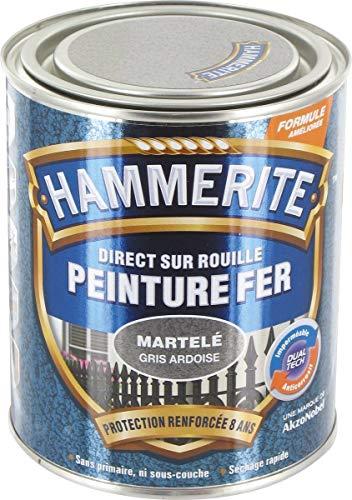 HAMMERITE FER MARTELE 0.25L GRIS ARDOI