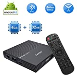Sawpy Android TV Box F2 Android 9.0 TV Box CPU Amlogic S905X2 Quad Core ARM 4GB RAM 32GB ROM WiFi...