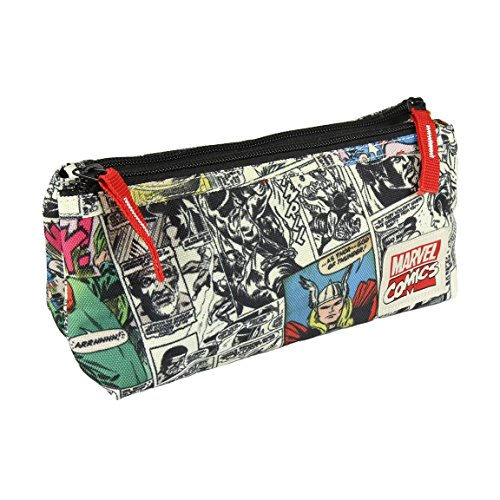Marvel- Star Wars Estuche Portatodo, Multicolor, 23 cm (Artesanía Cerdá CD-21-2276)