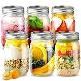 Best Jars - sungwoo Mason Jars, Canning Jars 16 ounces, 6 Review