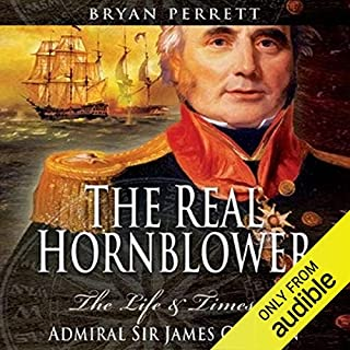 The Real Hornblower audiobook cover art