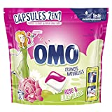 Omo Lessive Capsules 2en1 Rose & Lilas Blanc 30 Lavages