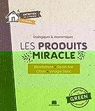 Les produits miracle - Bicarbonate, savon noir, citron, vinaigre blanc