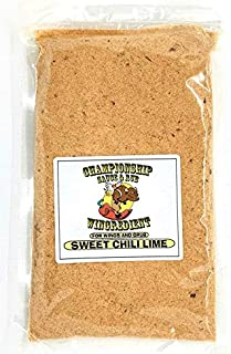 Wingredient   Gourmet Chicken Wing Sauce Starter Mix and Rub   Award Winning   Hot Sauce   Buffalo Sauce   Wing Sauce   Wing Rub   Dust   Grill, BBQ, Fryer (Sweet Chili Lime, Large 36.31oz)