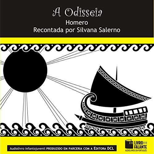 A Odisseia [The Odyssey] audiobook cover art