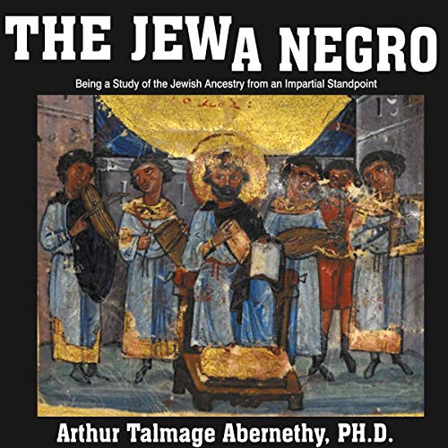The Jew a Negro audiobook cover art