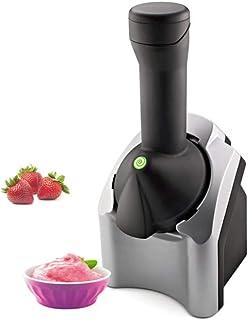 DHFD Machine à Glace et Sorbetière, Machine à Crème Glacée à Maison, Fabricant de Fruits à Desserts Sains Originaux, Sorbe...