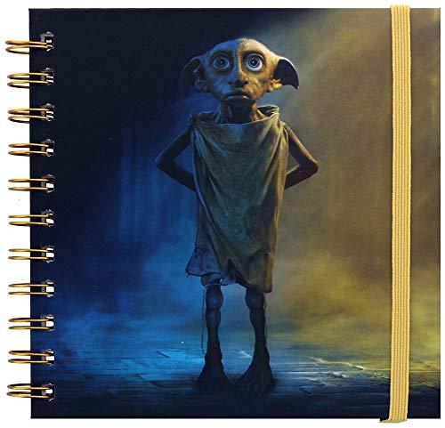 Quaderno quadrato di Harry Potter.
